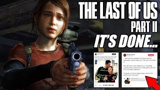 The Last of Us 2 is FINISHED... (TLOU2 HUGE News and Info)