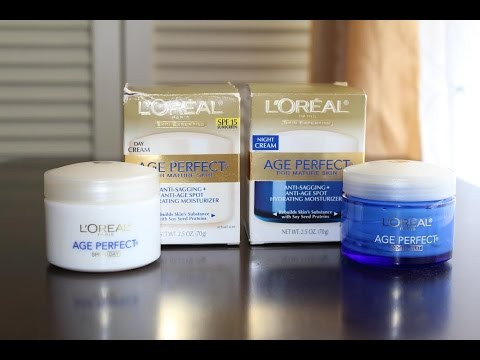 l 39 oreal age perfect day night skin care collection review. Black Bedroom Furniture Sets. Home Design Ideas