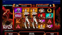Cirque Du Soleil Online Slot Bonus Free Games Big Win