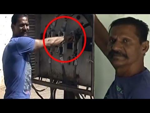 Super Human of Madhya Pradesh, India - Shock Proof Electric Man