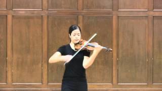 Dami Kim 파가니니 카프리스 Paganini Caprice No.5, Op.1 (SiMon)