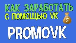 Заработок в интернете без вложений с помощью соц. сетей - PromoVK