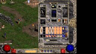Diablo 2 Unperm goes POOF, and state off the game!