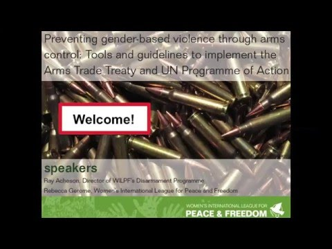 Preventing gender-based violence through arms control