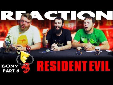 Resident Evil Trailer REACTION!! Sony E3 2016 Conference 6/12