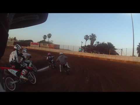 Ventura Raceway Flat Track 06/24/17 - Pit Bike 150