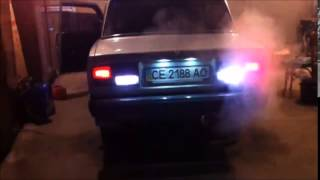 видео Установка и тюнинг задних фар на ВАЗ 2107
