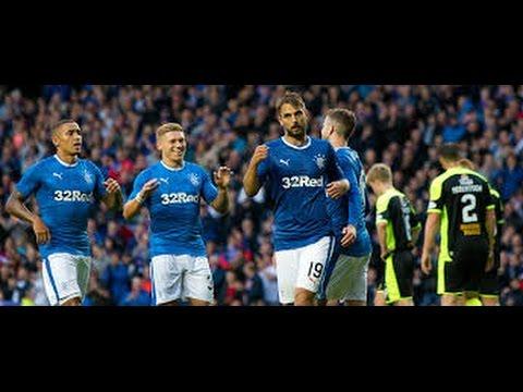 Niko Kranjcar 19 vs Stranraer. Rangers F.C. 3-0 Stranraer. 25.7.2016