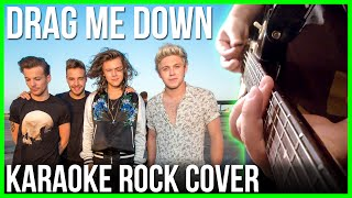 One Direction - Drag Me Down (Pop Punk Cover, Instrumental / Karaoke)