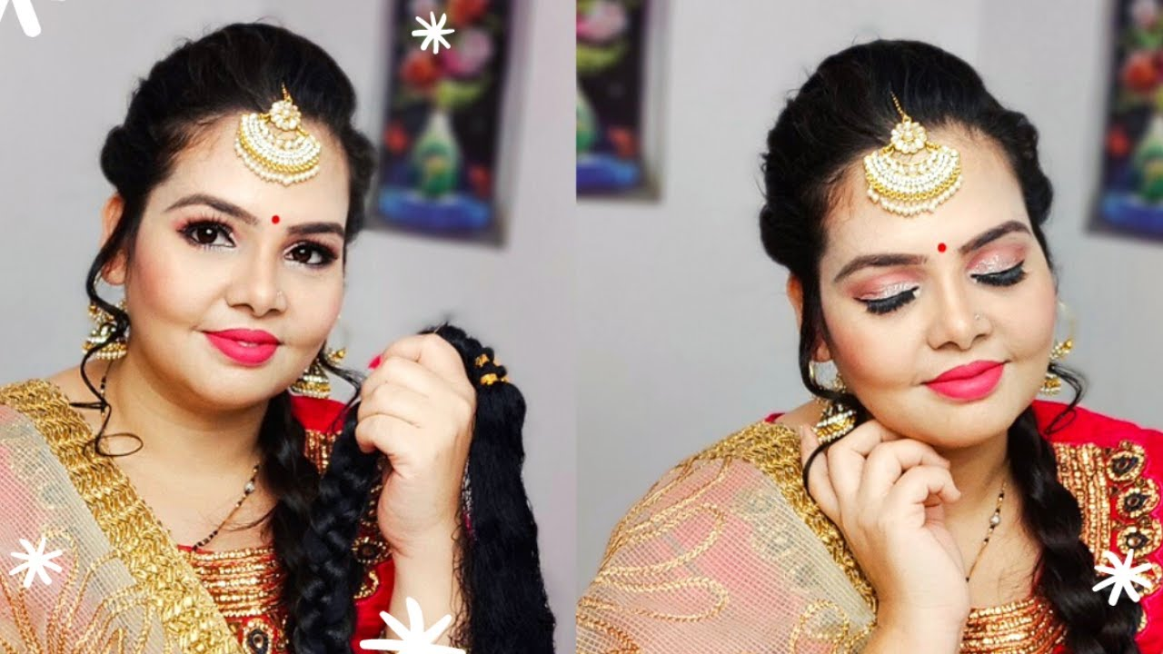 Punjabi Look Makeup Tutorial Step By Step for Beginners l Makeup for Beginners l kiranshankar