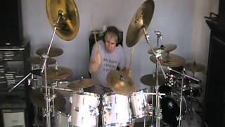 Drummer :Phil King playing 3 Ozzy tunes Miracle Man/Crazy Babies/Demon Alcohol