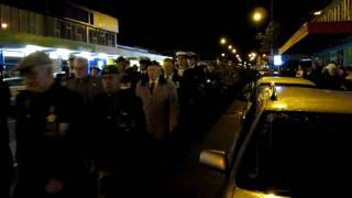 Anzac Day 2010 - Upper Hutt City Dawn March - Part 1