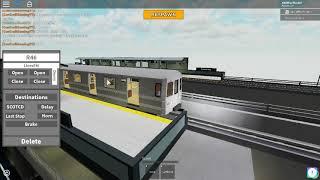 MTA Subway Train Simulator Roblox: R46 A [Lincoln Park] To [Coney Island]