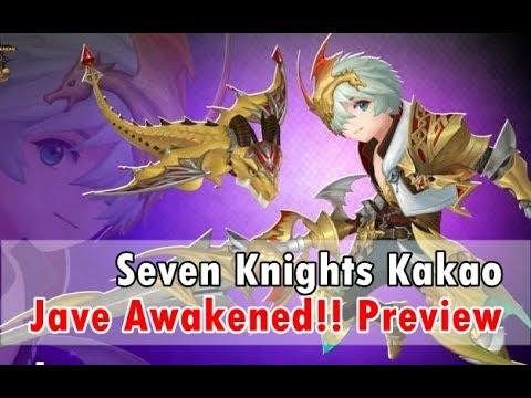 [Seven Knights][KR] Jave Awakened Preview ราชามังกร เทพ 5 เป้า