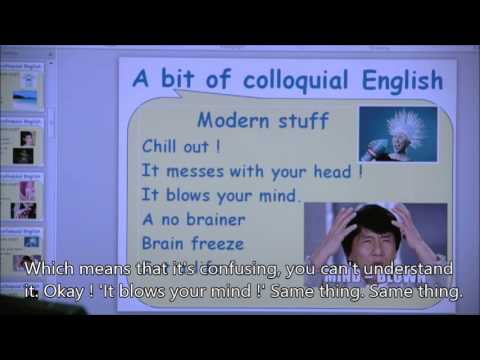 Gary's English Learning Centre - Show 31 - A bit of colloquial English with subtitles 咖哩英語教室 - 第31課