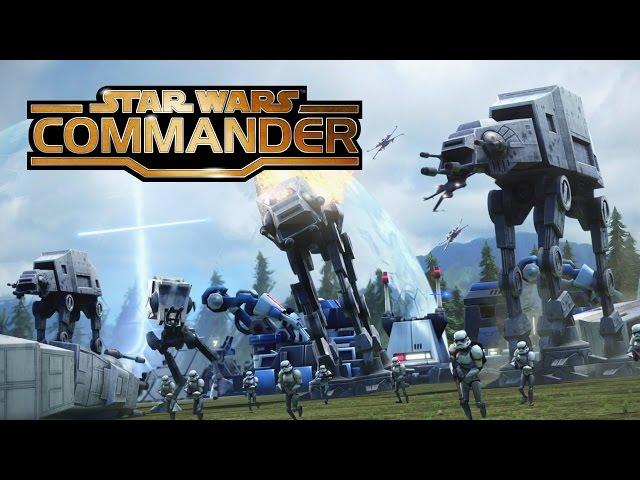 Star Wars Commander - Jogão grátis