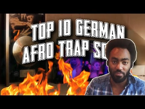 GERMAN RAP TOP 10 (CANADIAN'S FAVORITE ~ AFRO TRAP) (2018)