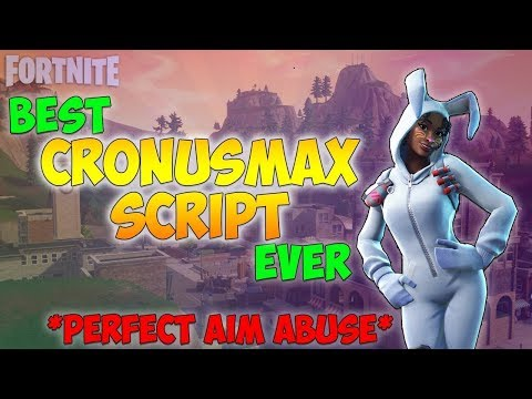 Fortnite - Cronusmax Script *BEST SCRIPT* AIM ABUSE Best Fortnite Script, Best Aim Abuse (Cronusmax)