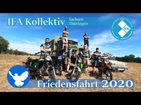 Simson-Tour an die Ostsee - IFA-Kollektiv - Friedensfahrt 2020
