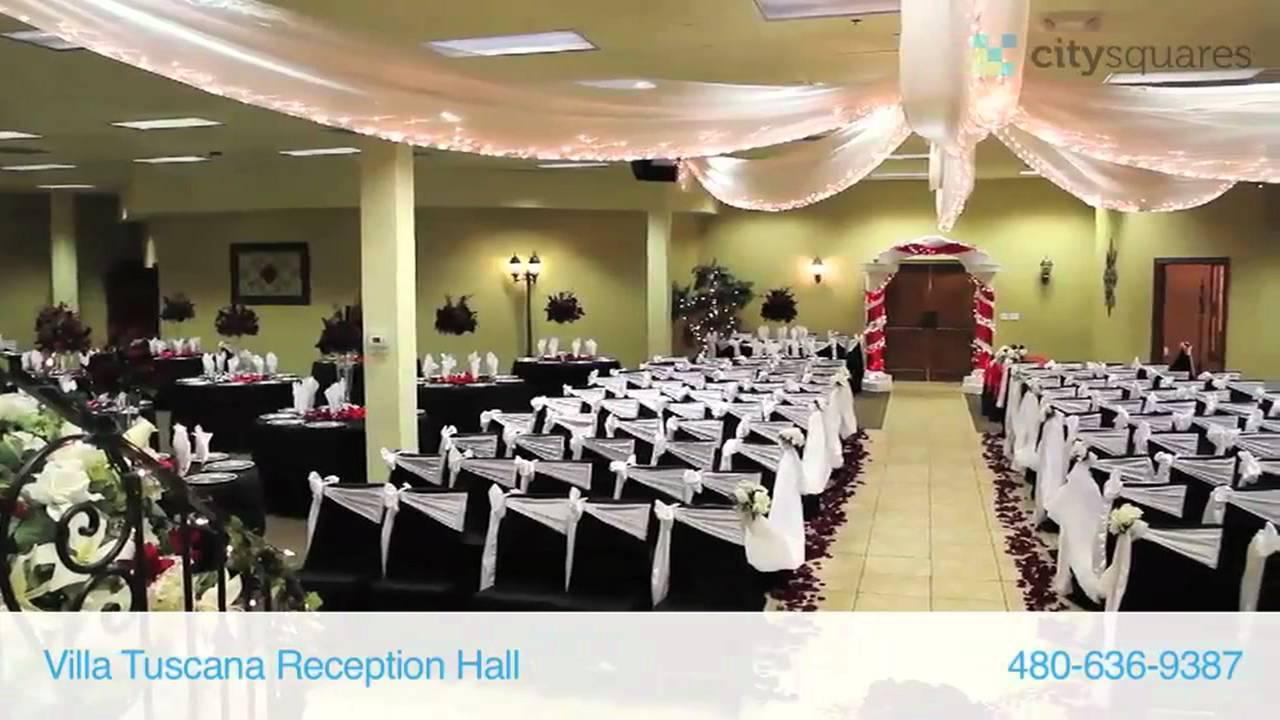 Villa Tuscana Reception Hall Youtube