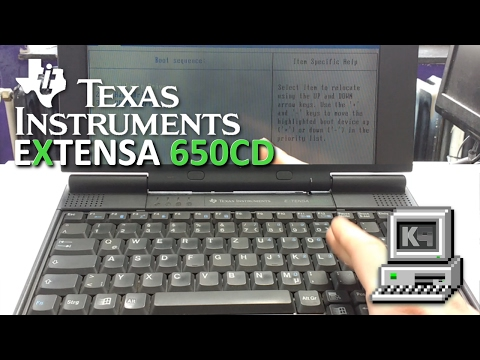 Texas Instruments Extensa 650CD • NOTEBOOK-PRÄSENTATION • KEPU94