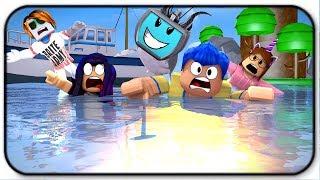 Etre le requin Hammerhead et manger tous mes amis à Roblox SharkBite