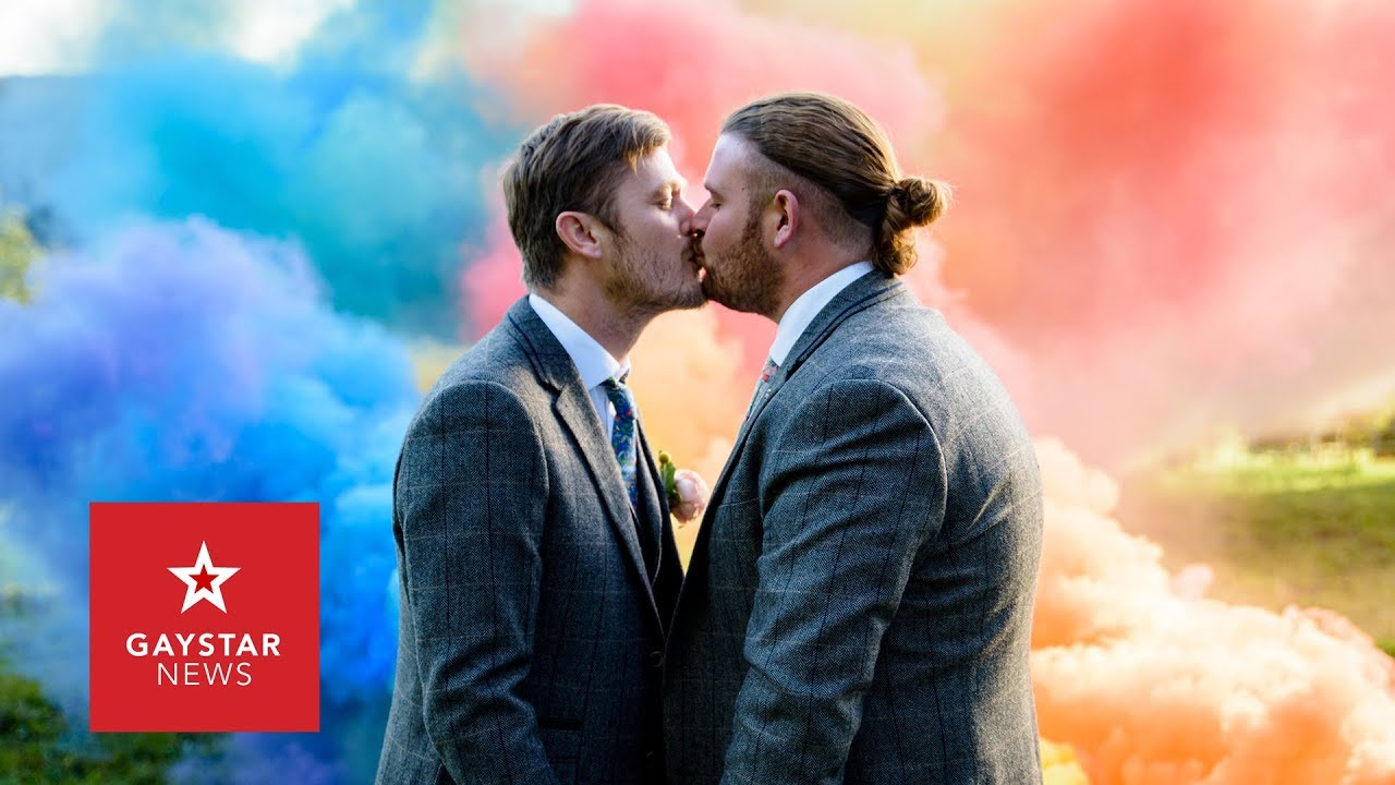 Gay Wedding Photoshoot By Cute Couple Is Beautiful Taking Wedding Photos To A Whole New Level Youtube