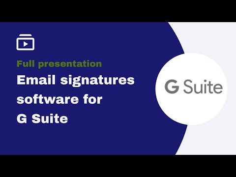 Email signatures management for Google Workspace with Bybrand