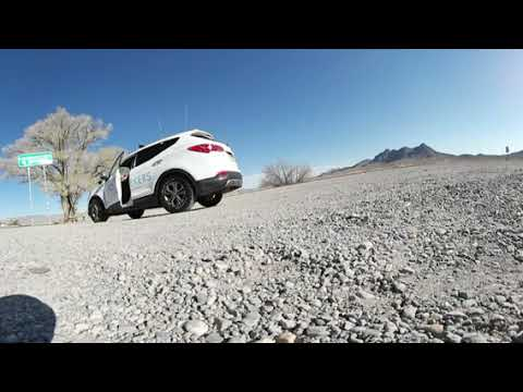 [ 360° VIDEO ] - Extraterrestrial  Highway Sign in Alamo, Nevada