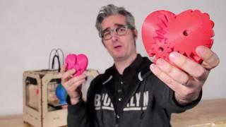 Bre Pettis Reveals The MakerBot Replicator!