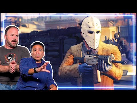 Bank Robber and Police Officer REACT to PAYDAY 2 | Experts React