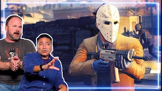 Bank Robber and Police Officer REACT to PAYDAY 2   Experts React