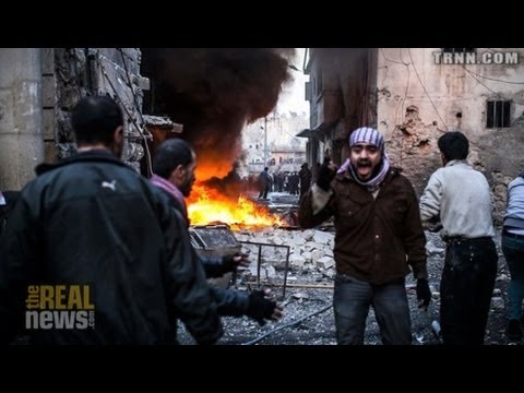Syria a Humanitarian Disaster - People Demand a Political Se
