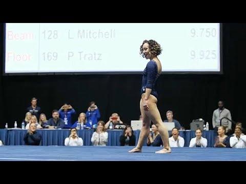 Gymnastique : l'incroyable 10 au sol de Katelyn Ohashi