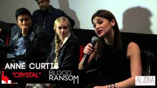 Q & A with Anne Curtis and Cast from Blood Ransom at Pacific Theatre Americana in Los Angeles