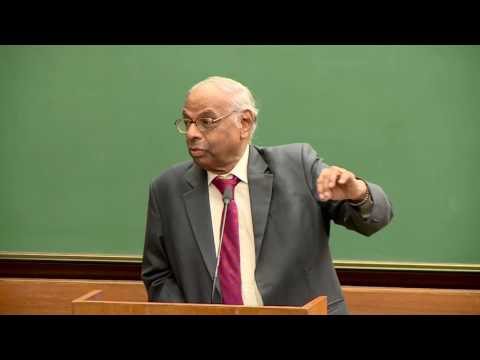 Prof. C. Rangarajan, an Indian Economist and Ex-RBI Governor of India at IIM Ahmedabad