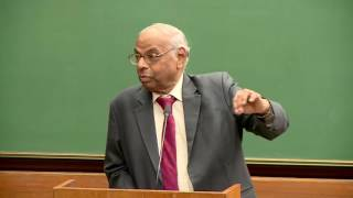 Prof. C. Rangarajan, an Indian Economist and Ex RBI Governor of India at IIM Ahmedabad