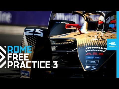 2021 Rome E-Prix - Race 4 | Free Practice 3