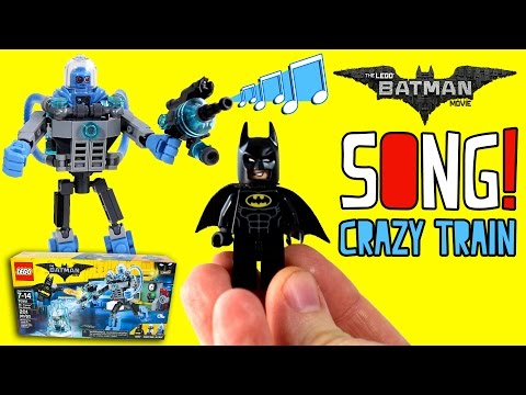 LEGO BATMAN MOVIE SONG | Crazy Train Cover for Kids | Mr Freeze Music
