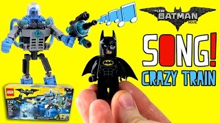 LEGO BATMAN MOVIE SONG   Crazy Train Cover for Kids   Mr Freeze Music