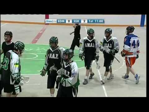 Jr. A Lacrosse - Edmonton Blues vs. Saskatchewan SWAT