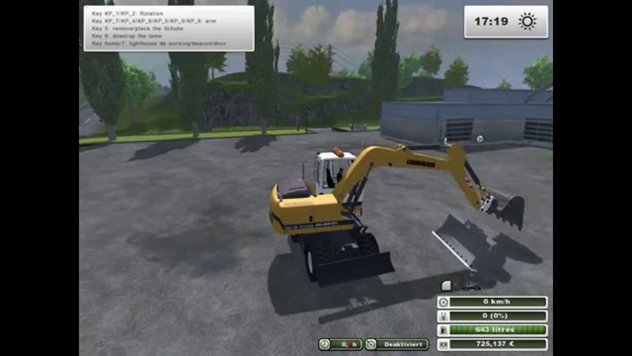 Pelleteuse farming simulator 2013 avec godets youtube - Pelleteuse simulator gratuit ...