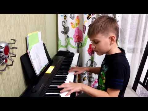 Егор. Пианино. К Элизе.
