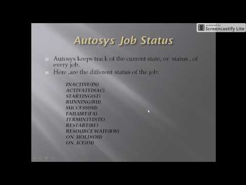 Autosys: Job Status, BOX  Logic, What happens when Box runs Class 5