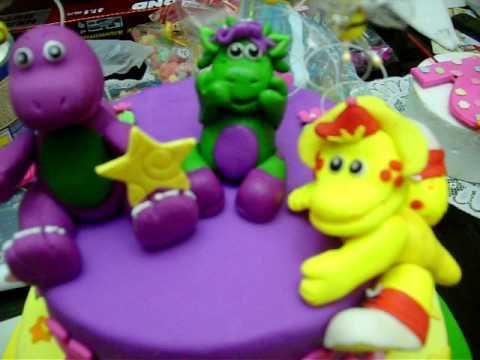 Barney Friends Birthday Cake