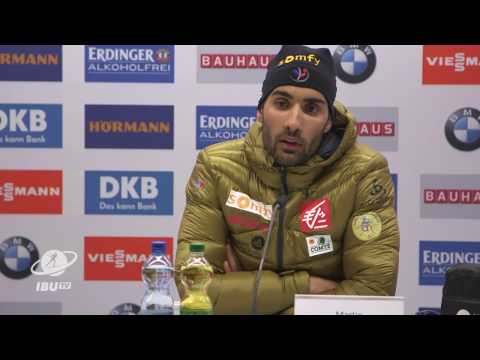 #Hochfilzen2017: Press Conference Men's Pursuit