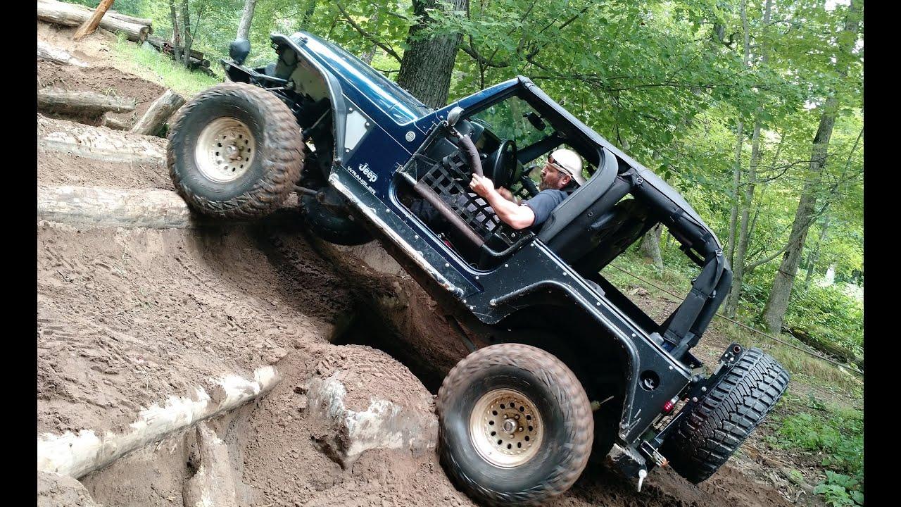 Off Road Jeep Trail Riding At Dresser WI