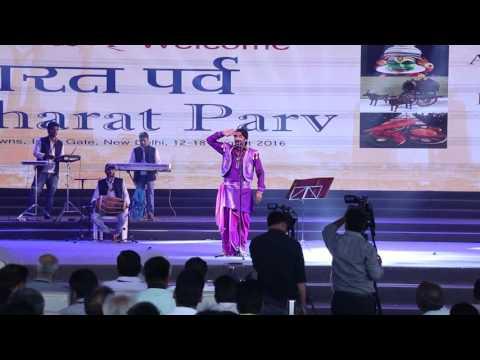 """""""Bharat Parav"""" Gajender Phogat latest Live from INDIA Gate"""