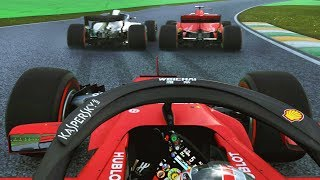LAST LAP DRAMA FOR THE LEAD! F1 2019 Mod CAREER MODE Part 20: Brazil