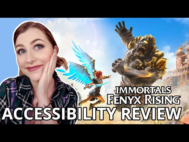 THIS GAME DID FOR ME WHAT BOTW COULDN'T | Immortals Fenyx Rising | Cognitive Accessibility Review